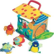 Manhattan Toy 201110 Put and Peek Birdhouse Baby Play Toy