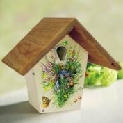 NB-CTW200 Nurturing Generations 25cm Nest Box- Flower Design by Droll Yankees