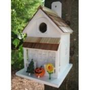 25cm Fully Functional Festive Home Outdoor Garden Birdhouse