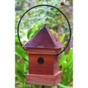 Heartwood Bird House Lantern Loft, Red 122