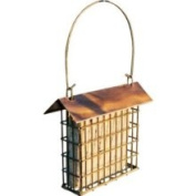 Woodlink COPSUET Coppertop Single Suet Cage Bird Feeder