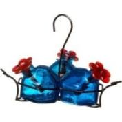 Parasol Bouquet-3 Hummingbird Feeder, Aqua, 310ml, BQ3AQ