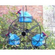 Parasol Ferris Wheel Hummingbird Feeder, Aqua, 310ml, FW3AQ