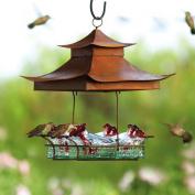 Parasol BW4SHCL Parasol Basketweave Shelter Hummingbird Feeder,