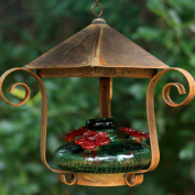 Parasol BLOOMSHG Parasol Bloom Shelter Hummingbird Feeder, Green,