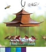 Parasol BW4SHB Parasol Basketweave Shelter Hummingbird Feeder,
