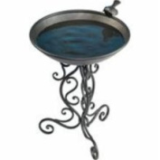 Gardman Ornate Metal Bird Bath 50cm x 71cm .