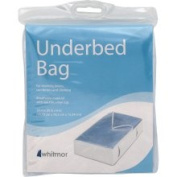 Whitmor Mfg. White Underbed Storage Bag 5003-1144