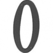 Mintcraft N-020 10cm House Number 0 Black Finish