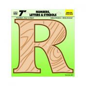 Hy-Ko Prod. GB-7/R 18cm Poly Letter R