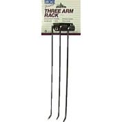 Decko #38190 Swing Arm Kitchen Towel Rack, Chrome
