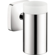 Hansgrohe 41504000 PuaVida Tumbler Ceramic Wall Mounted with Holder Ch