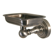 Allied Brass Dottingham Soap Dish with Glass Liner Finish