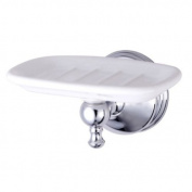 Kingston Brass BA7615C Kingston Brass BA7615C Naples Wall-Mount Soap Dish Chrome