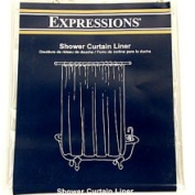 online Discount Mart Clear Shower Curtain Liner