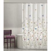 Maytex Shower Curtain, Peva, Garden Flight