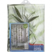 Maytex Shower Curtain, Peva, Zen Garden