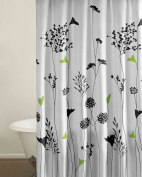 Perry Ellis Asian Lilly Shower Curtain