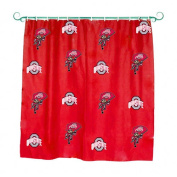 College Covers Ohio State Buckeyes Printed Shower Curtain Cover - 180cm x 180cm