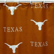 College Covers TEXSC Texas Printed Shower Curtain Cover 70 in. X 72 in.