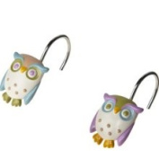 Allure Home Creations Awesome Owls 12-Pk. Shower Curtain Hooks AWOHK00