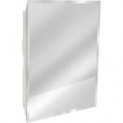 Zenith MP109 Bevelled Frameless Medicine Cabinet 40.6cm x50.8cm x12.1cm