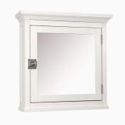 Madison Avenue Medicine Cabinet in White - Elegant Home Fashions 7039