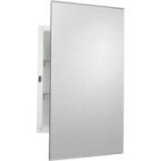 Zenith MM1027 Frameless Prism Bevelled Swing Door Medicine Cabinet