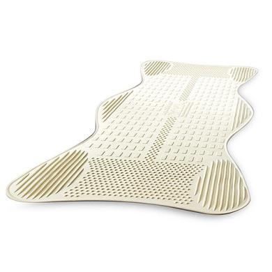 AquaSense Non-Slip Bath Mat with Invigorating Massage Zones, Large