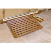 Seville Classics Bamboo Bath Mat