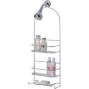 Homebasix SS-5786-CH-3L Shower Caddy Deluxe, Chrome