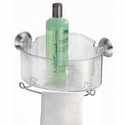 InterDesign Forma Powerlock Suction Corner Basket 79820