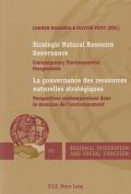 Strategic Natural Resource Governance la Gouvernance des Ressources Naturelles Strategiques