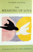 The Meaning of Love [Paperback]