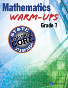 Mathematics Warm-Ups for Ccss, Grade 7