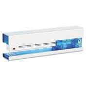 Full Strip Fashion Staplers, 20-Sheet Capacity, Chrome/Blue
