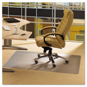Floortex PF119225EV ClearTex Advantagemat Phthalate Free PVC Chair Mat for Low Pile Carpet 36 x 48