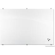Best-Rite Visionary Magnetic Tempered-Glass Marker Board, 70cm x 90cm , Gloss White