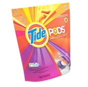 Tide Pods Spring Meadow Detergent + Stain Remover + Brightener - 14 CT