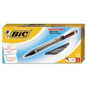Bic FPIN11-RD Intensity Permanent Pen 0.5 mm Fine Red Dozen