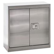 Stainless Steel Storage Cabinet, 30w x 12d x 30h