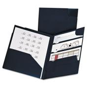 Oxford Divide It Up Four-Pocket Poly Folder, 28cm x 22cm , Assorted