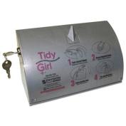 Tidy Girl Stainless Steel Feminine Hygiene Disposal Bag Dispenser