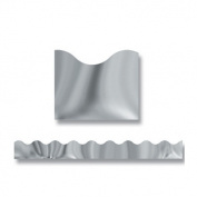 "Terrific Trimmers Metallic Borders, Silver, 12 Strips, 2 1/4"" x 39"" each"