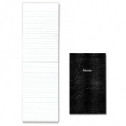 Rediform EcoLogix Memo Pad, Black Cover, 50 Sheets
