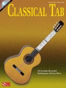 Classical Tab Guitar Tab Gtr Bk/CD