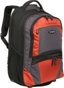 Samsonite 17878-1070 Computer Compatible Wheeled Backpack - Black-Orange