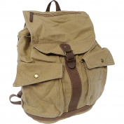 Classic Style Canvas Backpack