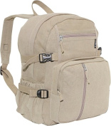 Everest CTBP-2010S-KK 16.5 in. Cotton Canvas Backpack