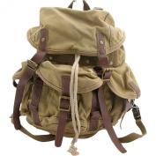Medium Cotton Canvas Backpack